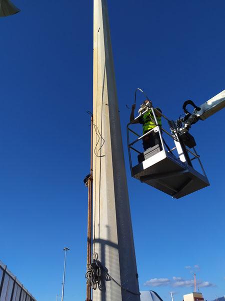 Installazione-pali-telecomunicazioni